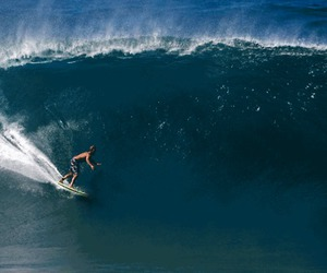 awesome, surfing, and azul image