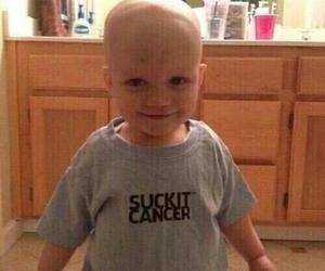 kid and cancer image