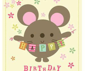 cute, birthday, and happy birthday image
