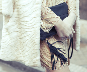 dress, winter, and Milagros Schmoll image
