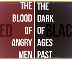 black, les miserables, and red image