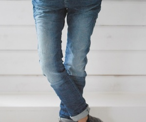 jeans, fashion, and boots image
