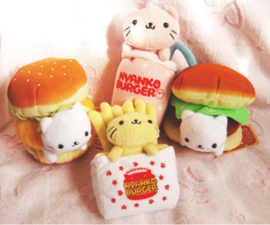 cute, adorable, and food image