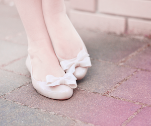 ballerinas, bow, and bows image