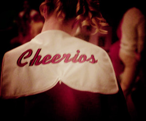 brittany, cheerios, and glee image