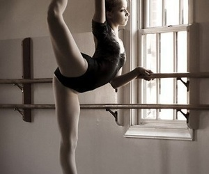 arabesque, barre, and ballet image