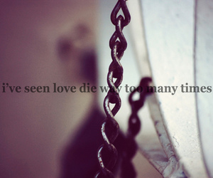 love, die, and text image