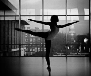 arabesque, ballet, and dance image