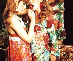 fashion, girls, and hippie image