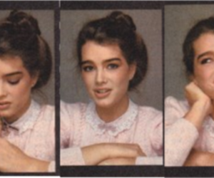 brooke shields and cute image