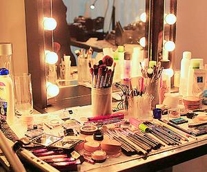 makeup, make up, and light image