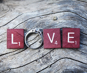 love, ring, and photography image