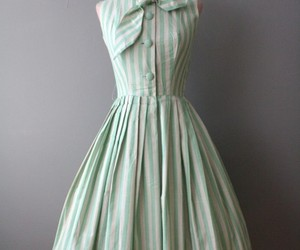 dress, fashion, and vintage image