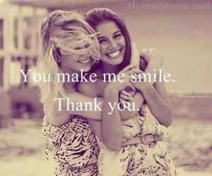 friends, smile, and best friends image