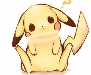 pikachu and kawaii image