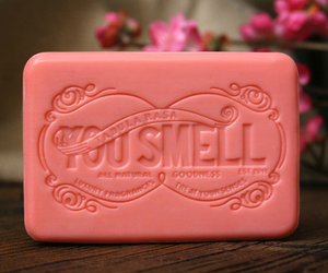 soap, pink, and pretty image