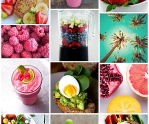 fruit, Collage, and food image