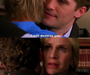 glee, sue sylvester, and will schuester image