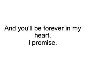 love, promise, and forever image