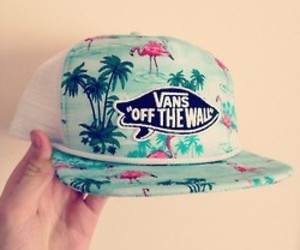 vans, hat, and summer image