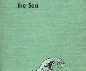 sea, quotes, and book image