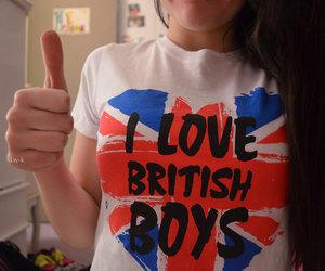 blusa, t-shirt, and uk image