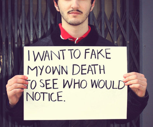 death, fake, and text image