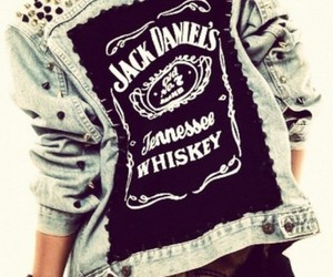 fashion, jack daniels, and jacket image
