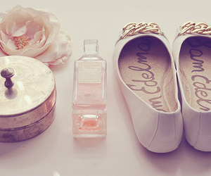 shoes, perfume, and vintage image