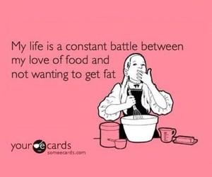 food, fat, and true image