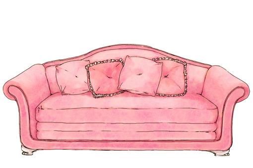 Sof谩 Rosa Imagens Fofas Para Tumblr We Heart It Etc