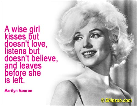 Marilyn Monroe Quotes Famous Quotes By Marilyn Monroe