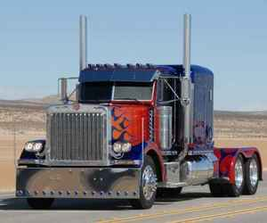 cars, optimus prime, and fiction image