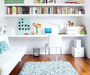 bedroom, modern, and small space image