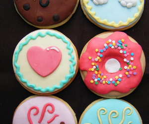 sweet, Cookies, and donuts image