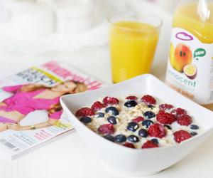 food, healthy, and magazine image