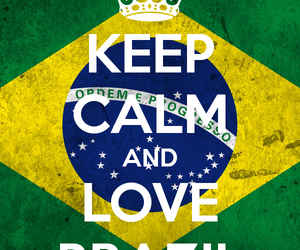 brazil and love image