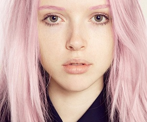 hair, pastel, and look image