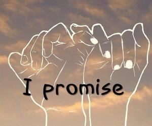 promise, love, and text image