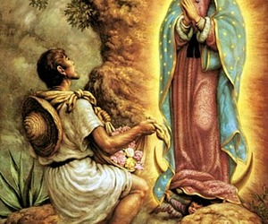 traditions, virgen de guadalupe, and juan diego image