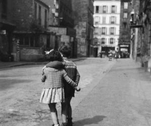 love, cute, and black and white image