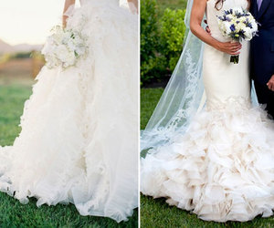 bridal, dresses, and gowns image