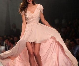 miranda kerr, pink, and Victoria's Secret image