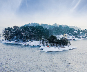 Island, nature, and snow image