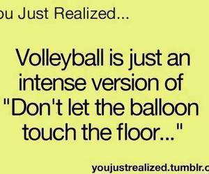 ball and volleyball image