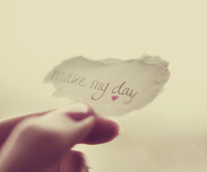 make my day and note image