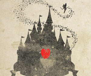 disney, castle, and heart image