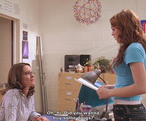 mean girls, drugs, and lindsay lohan image