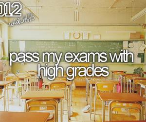 exam, grades, and school image