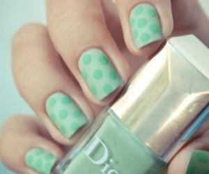 nails, dior, and green image